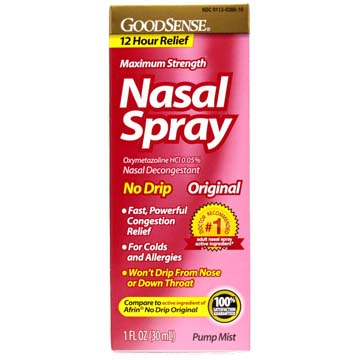 Nasal Spray by GoodSense | Compare to Afrin