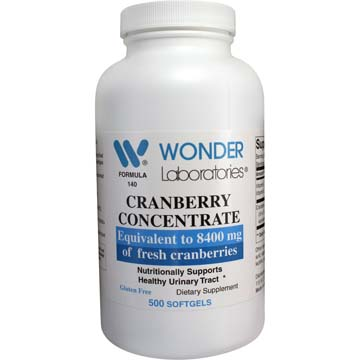 Cranberry Concentrate 8400 mg with C and E