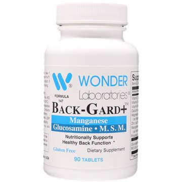 Back-Gard+™ | Manganese Glucosamine and MSM