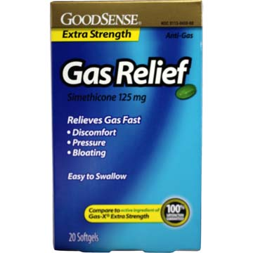 Gas Relief - Extra Strength by GoodSense