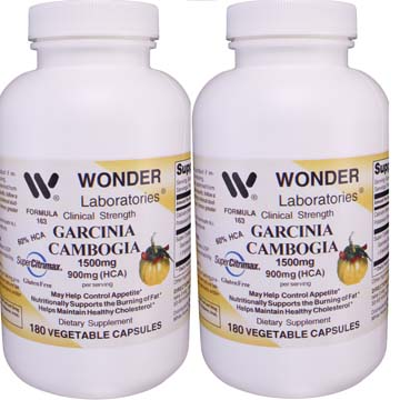 Garcinia Cambogia 1500 mg Per Serving 900 mg