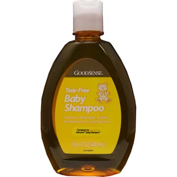 Tear Free Baby Shampoo from GoodSense