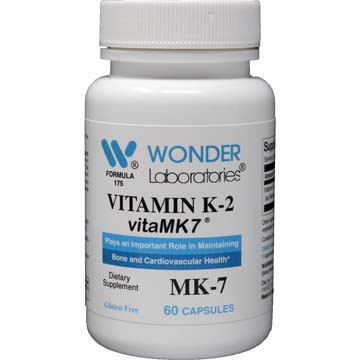Vitamin K-2 MenaQ7™ 50 mcg as Menaquinone from Natto Extract