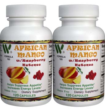 African Mango 2 Pack with Raspberry Ketones