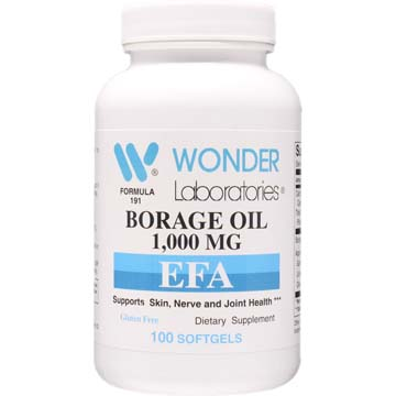 Borage Oil 1000 mg | Supports Skin, Nerve and Joint Health
