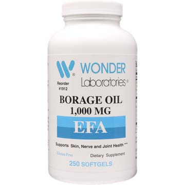 Borage Oil 1,000 mg