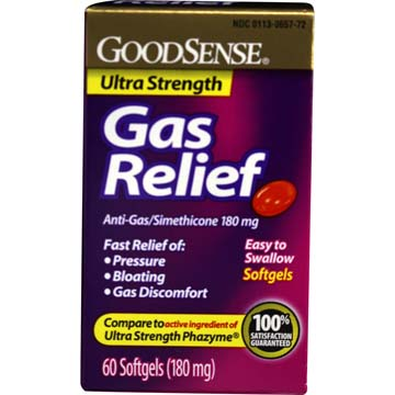 Gas Relief Ultra Strength