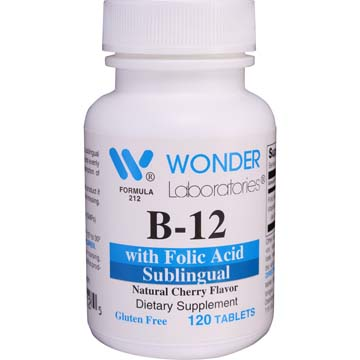 Vitamin B-12 Sublingual B-12