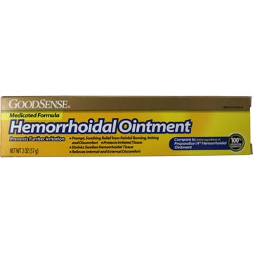 Hemorrhoidal Ointment Medicated Formula by GoodSense