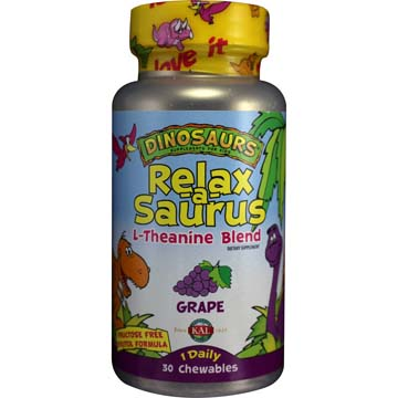 Relax-A-Saurus™ | L-Theanine Blend - Grape Flavor