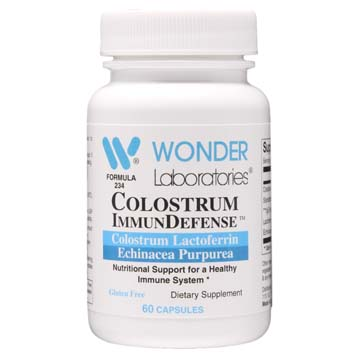 Colostrum ImmunDefense™ | Lactoferrin Lysozyme