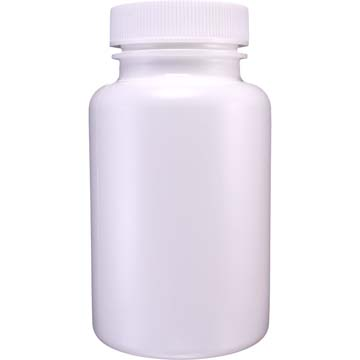 Empty Bottles | HDPE Bottles | White Plastic 4oz Size | 6ct
