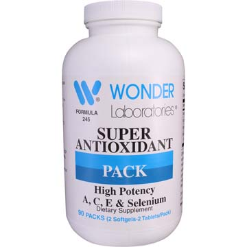 Super Antioxidant Pack - High Potency Vitamin ACE & Selenium