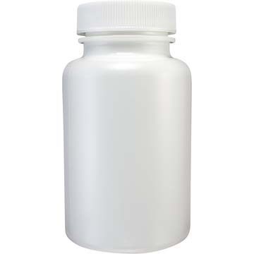 Empty Bottles | HDPE Bottles | White Plastic 5oz Size | 12ct