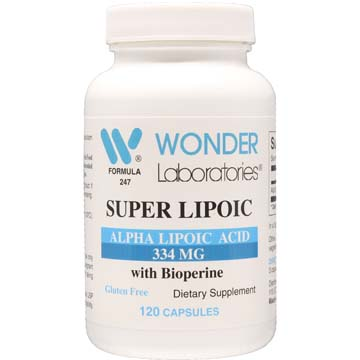 Alpha Lipoic Acid Super Lipoic Grape Seed Extract 95% Proanthocyanidins