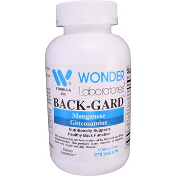 Back-Gard™ | Vitamins and Minerals w/Glucosamine
