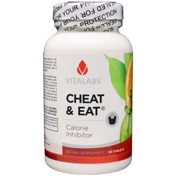 Cheat & Eat Calorie Inhibitor - Dietary Supplement