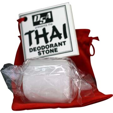 Thai Deodorant Stone | 100% Pure - Additive & Chemical Free