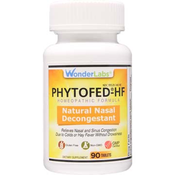 Natural Nasal Decongestant and Sinus Relief Phytofed-®HF