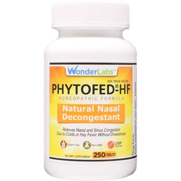 Phytofed®-HF - Natural Nasal Decongestant & Sinus Relief