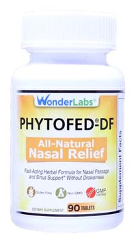 Natural Nasal and Sinus Relief Phytofed®-DF