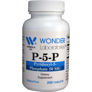 P-5-P (Pyridoxyl-5-Phosphate 50 mg) | Healthy Nervous System Support