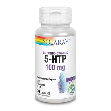 5-HTP 100 mg Plus St. John's Wort Enteric Coated