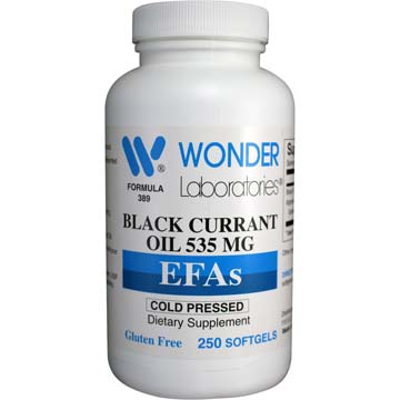 Black Currant Oil 535 mg | EFAs - Cold Pressed