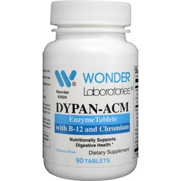 Dypan-ACM | Enzyme Tablets with B-12 and Chromium