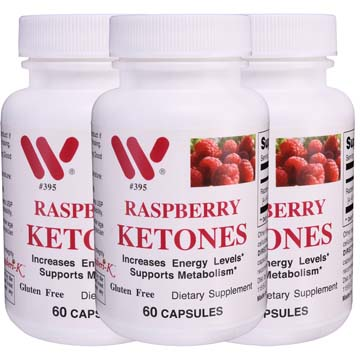 Raspberry Ketones - 3 Pack