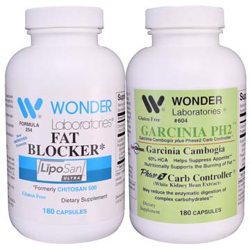 Weight Loss Combo Pack | Fat Blocker & Garcinia PH2 (2 pack)