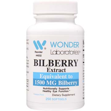 Fruit Extract Bilberry 1500 mg
