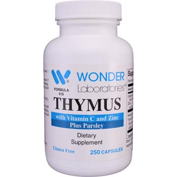 Thymus w/ Vitamin C and Zinc + Parsley