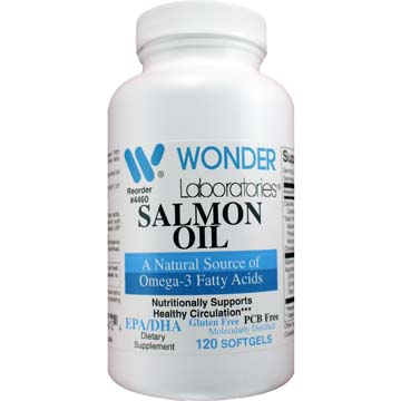 Omega 3<br>Salmon Oil Fatty Acids