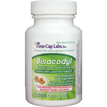 Bisacodyl Enteric Coated<br>Delayed-Release<br>Laxative Tablets USP 5 mg