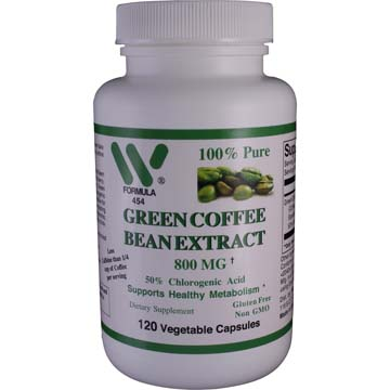 Green Coffee Bean Extract 800 mg