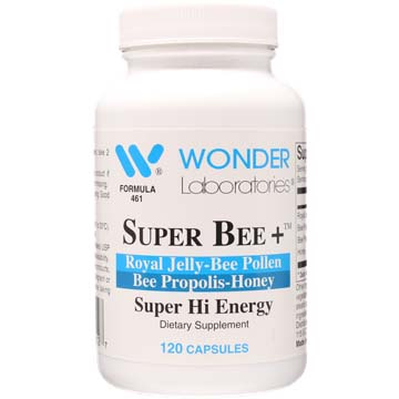 Super Bee+ | Royal Jelly - Bee Pollen - Bee Propolis - Honey