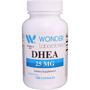 DHEA (dehydroeplandrosterone) | Promotes Hormone Production Crucial to Various Bodily Functions