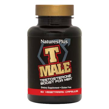 T MALE - Testosterone Boost for Men by Natures Plus