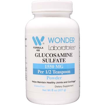 Glucosamine Sulfate Powder 3100 mg per Teaspoon