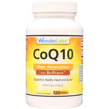 Co-Enzyme Q10 200 mg High Absorption Co Q10 with Bioperine