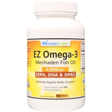 Menhaden Fish Oil Omega-3 2000 mg