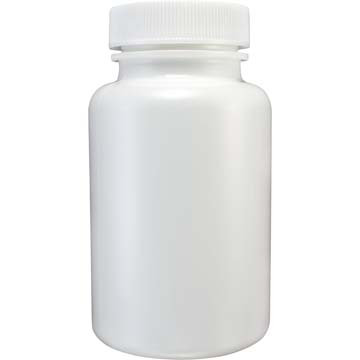 Empty Bottles | HDPE Bottles | White Plastic 7oz Size | 24ct