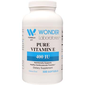 Vitamin E 400 IU | Cardiovascular Function Support