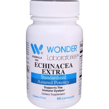 Echinacea Extra Angustifolia Root<br>Concentrated and Standarized for 3.2 - 4.8% echinacosides)