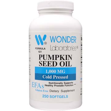 Pumpkin Seed Oil | 1000 mg - Organic Cold Pressed