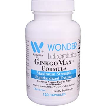 GinkgoMax™ Formula - Ginkgo Biloba Maximum Strength
