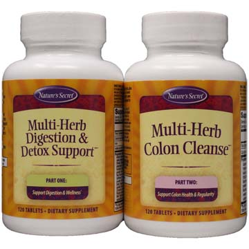 Multi-Herb Digestion & Detox Support | 2-Step Process