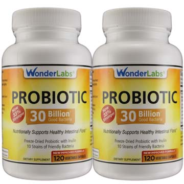 Probiotic 20 Billion Good Bacteria † 2 Pack