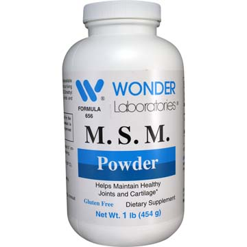 M. S. M. Powder | Helps Maintain Healthy Joints Cartilage